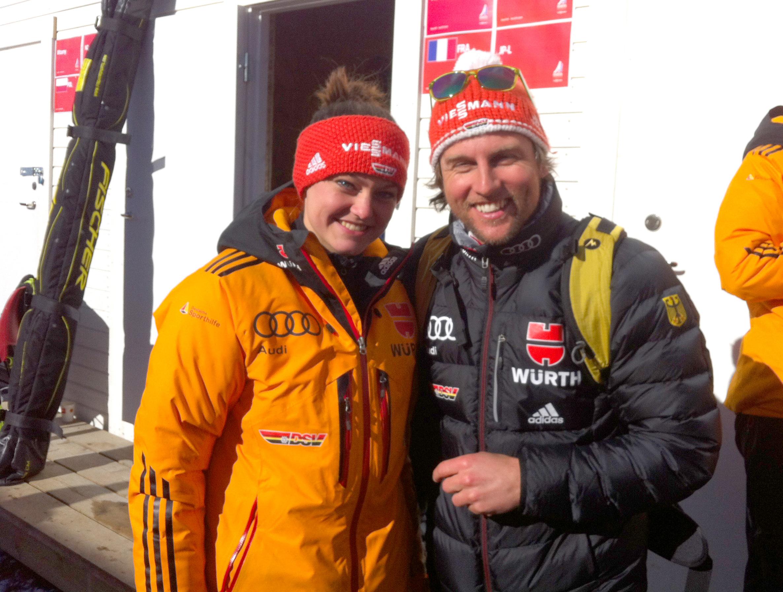 Referenz Skisprung Olympiasiegerin Carina Vogt