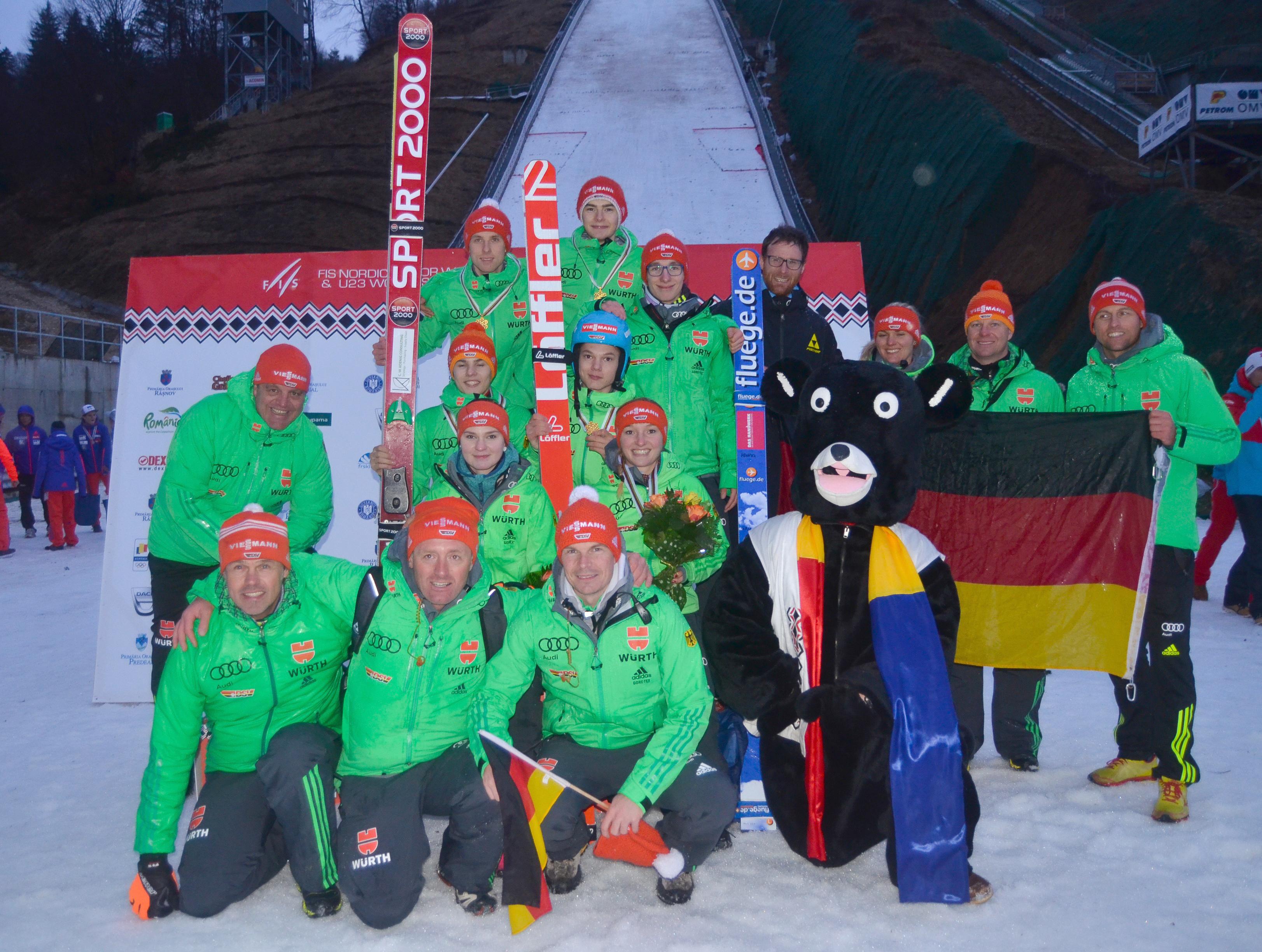 Referenz Juniorenweltmeisterschaften Telemark Rasnov Rumänien 2016