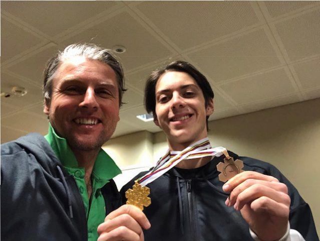 Constantin Schmid Gold und Bronze JWM Finnland Lathi 2019