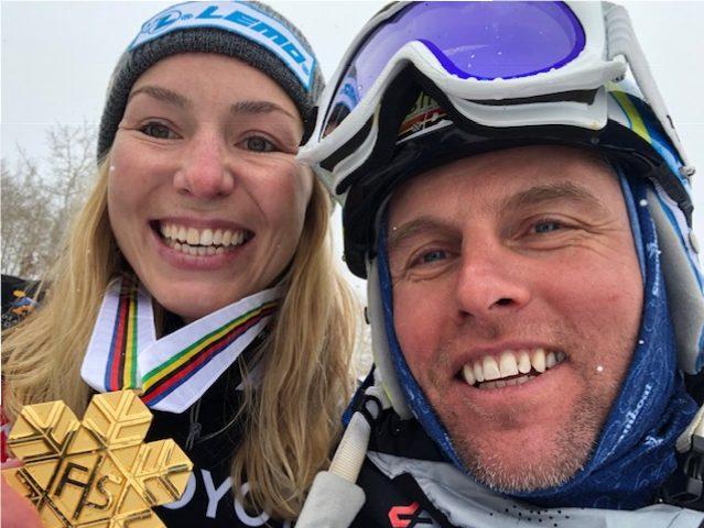 Selina Jörg Snowboardweltmeisterin Riesenslalom Park City Utah