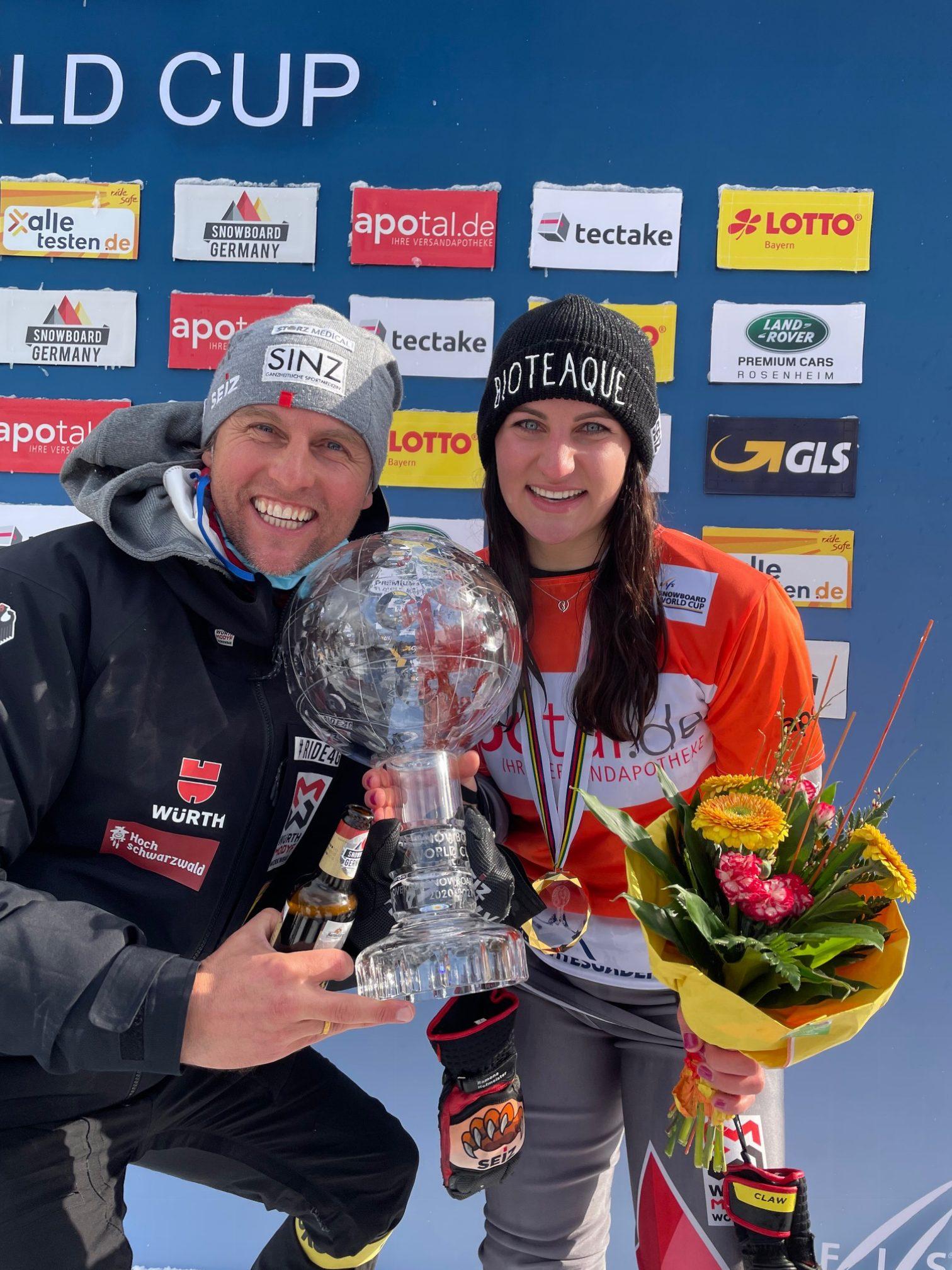 Gesamtweltcupsiegerin Ramona Hofmeister 2021